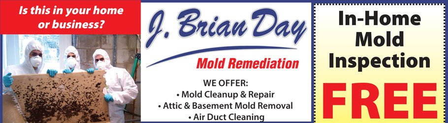 J Brian Day Mold Testing, Cleanup, Removal, Flood cleanup