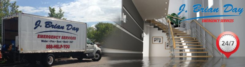 j. brian day water damage cleanup