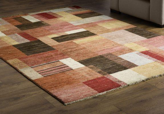 carpeting on hardwood floor